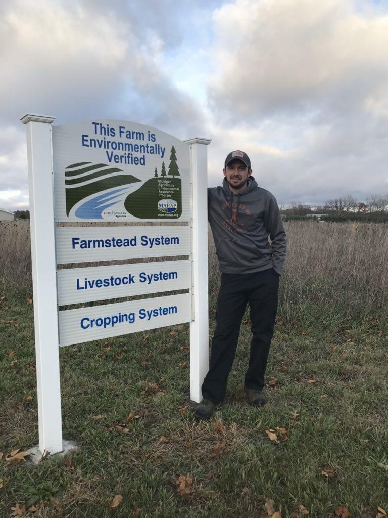 veteran farmer by sign