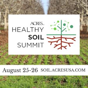 2021 Healthy Soil Summit info
