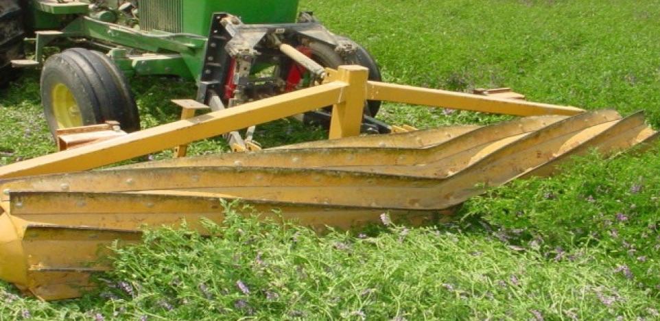 Roller/Crimper No-Till: Advancing No-Till Agriculture